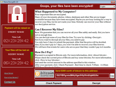 Ransomware, what is it and what can you do?